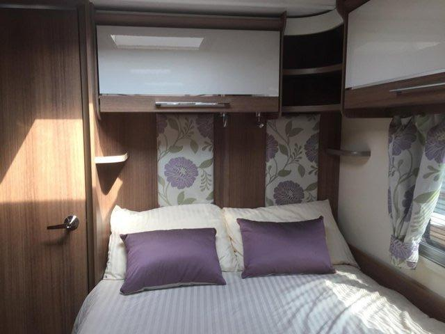 Image 2 of Bailey Unicorn Valencia 2019 4 berth fixed bed - immaculate
