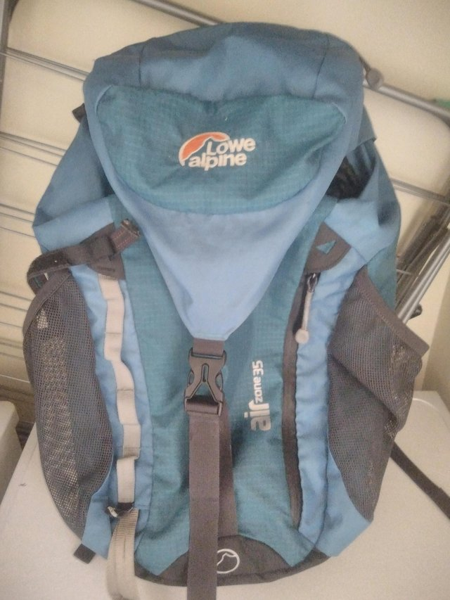 Preview of the first image of Lowe alpine air pro 35 backpack.