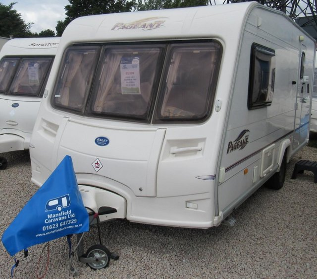 Preview of the first image of BAILEY PAGEANT NORMANDIE 2005 2 BERTH CARAVAN.