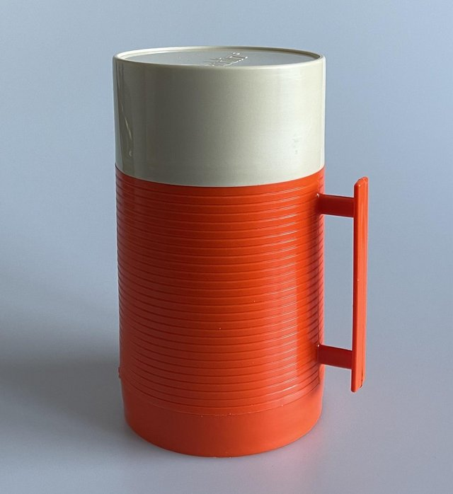 Preview of the first image of Vintage Aladdin super food flask 0.44 litre.