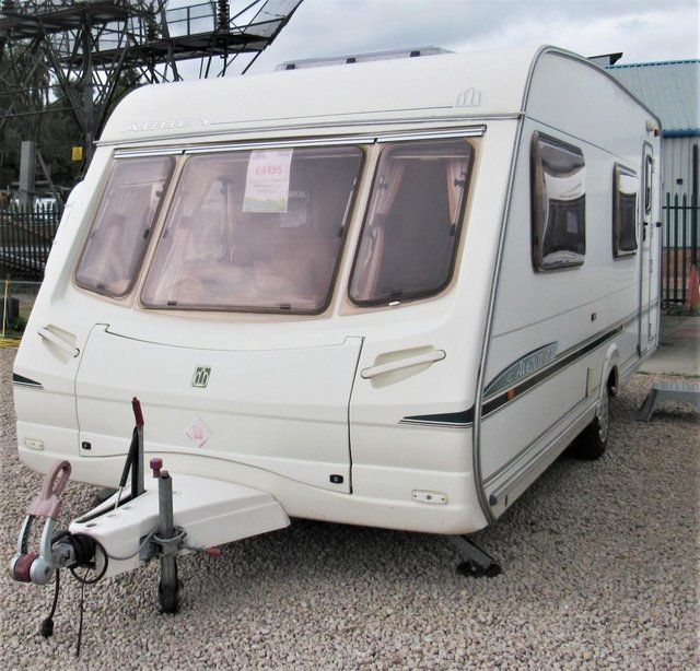 Preview of the first image of ABBEY AVENTURA 330, 2003 6 BERTH CARAVAN.