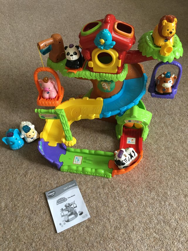 Image 3 of Toot-toot animal tree house with 7 toot toot animals