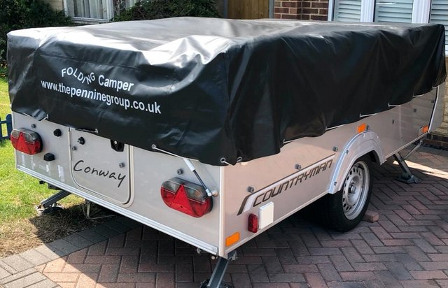 Preview of the first image of Pennine Conway countryman Folding Camper.