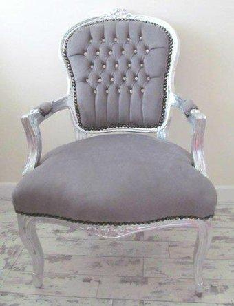 grey french style chair for sale in monmouth