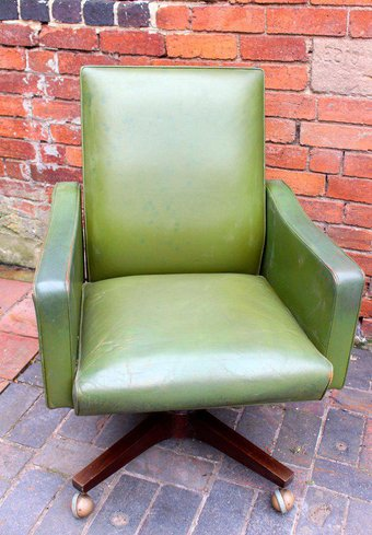 green swivel chair for sale in derbyshire