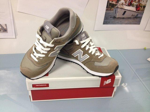 Grey New Balance Trainers