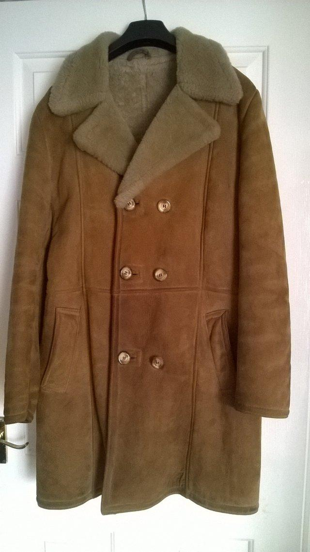 Tan Sheepskin Coat