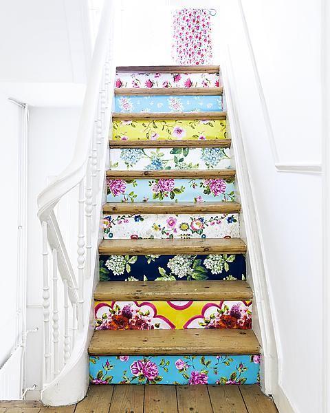 Home Ideas: Decorative Stair Risers