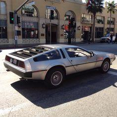 DeLorean Hollywood