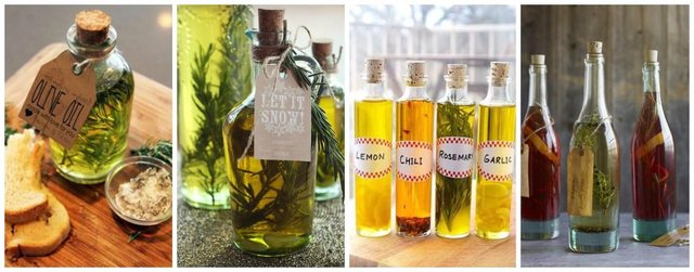 Homemade infused oils
