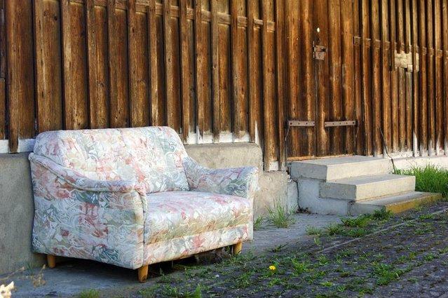 sofa outside