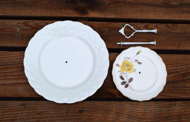 plates with holes in