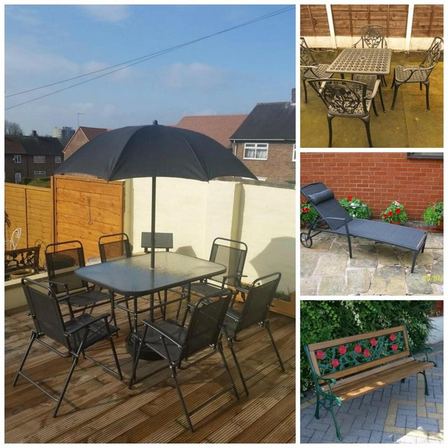 second hand garden furniture uk